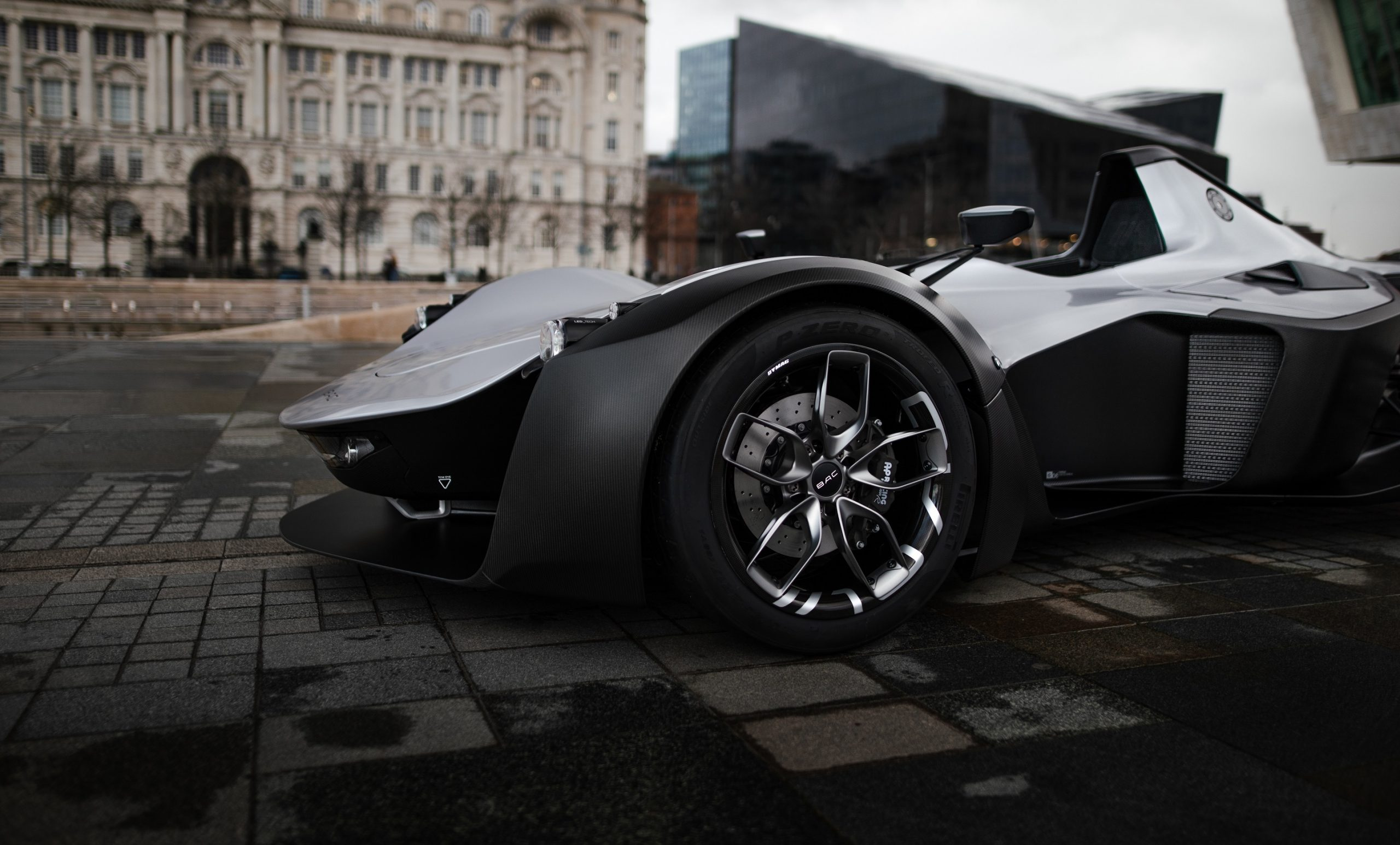 Back end of a new generation BAC Mono.