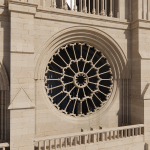 close up of 3d model used for the restoration of Notre-Dame Cathedral