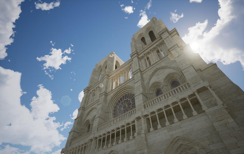 facade of Notre-Dame