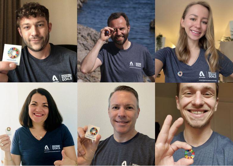 Headshots of Autodesk Sustainability Leaders