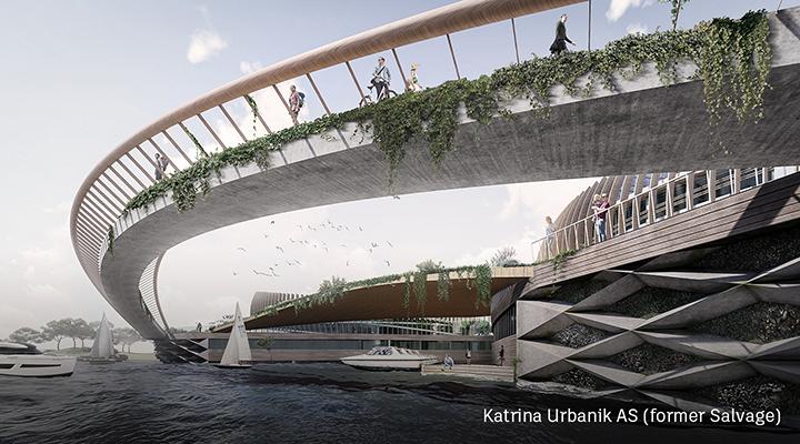 Self-sufficient urban development in Norway.