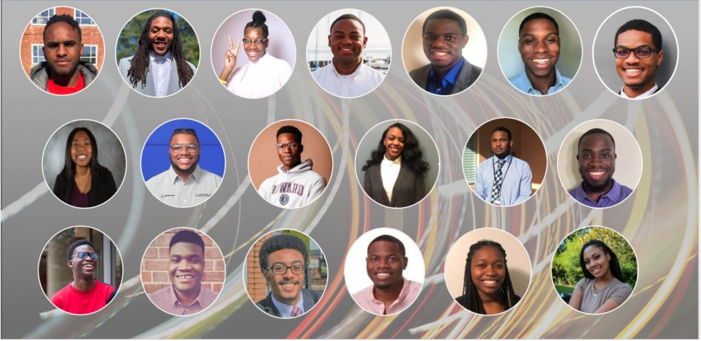 A view of the first cohort of the HBCU Tech students.